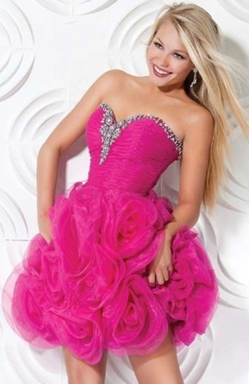 Hot Pink Prom Dresses Under 100 - Ocodea.com