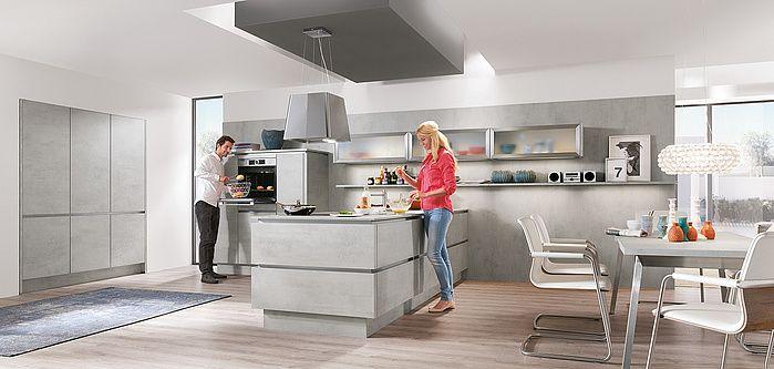 RIVA 892 - Beton grau Nachbildung küchen Pinterest Kitchens