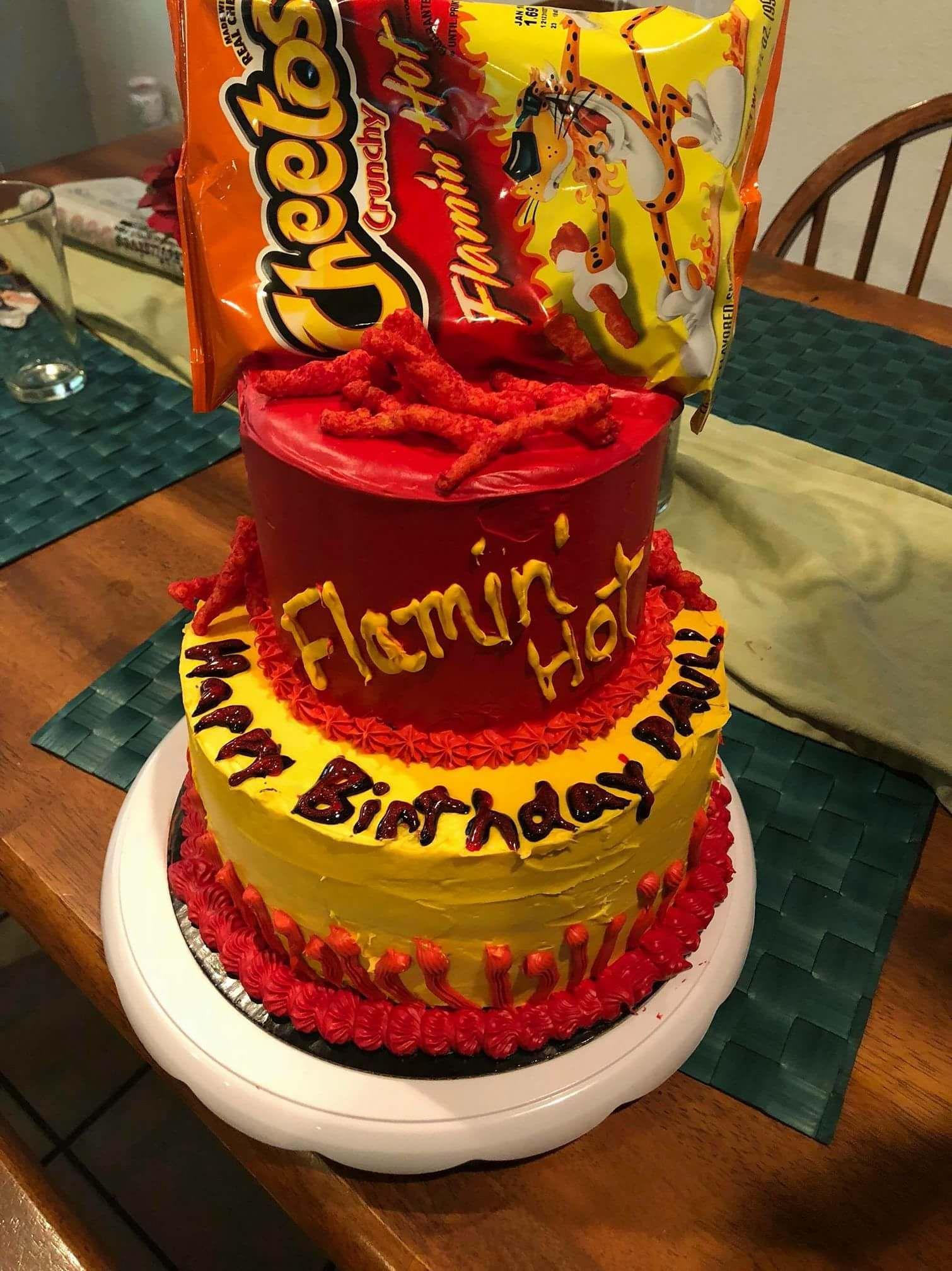 Birthday Cake Savory