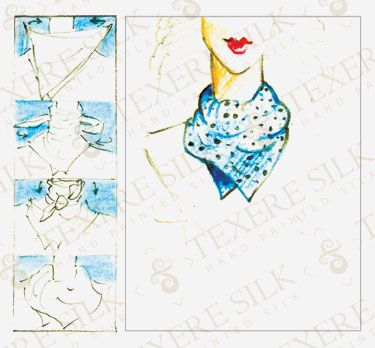 How to Tie a Scarf: Scarf Tying Styles: How to Tie a Neck Wrap #5