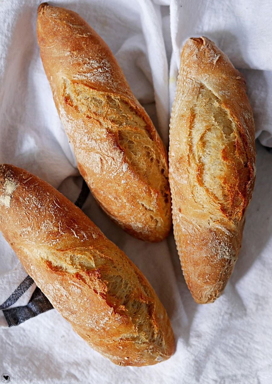Schnelles Baguette   Fertig in 21 Minuten