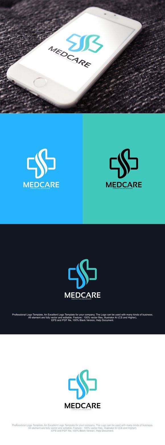 Health care logo design brand identity