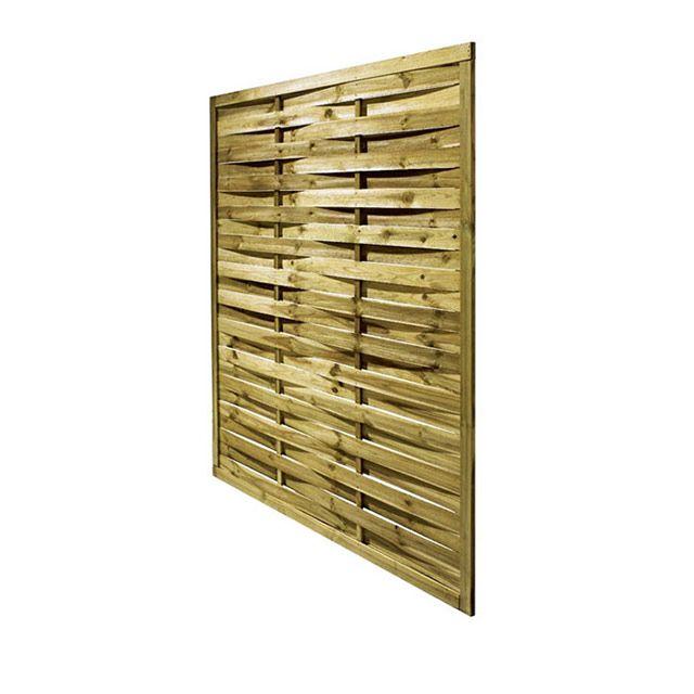 Panneau bois tress l ger x cm castorama - Panneau de bois exterieur castorama ...