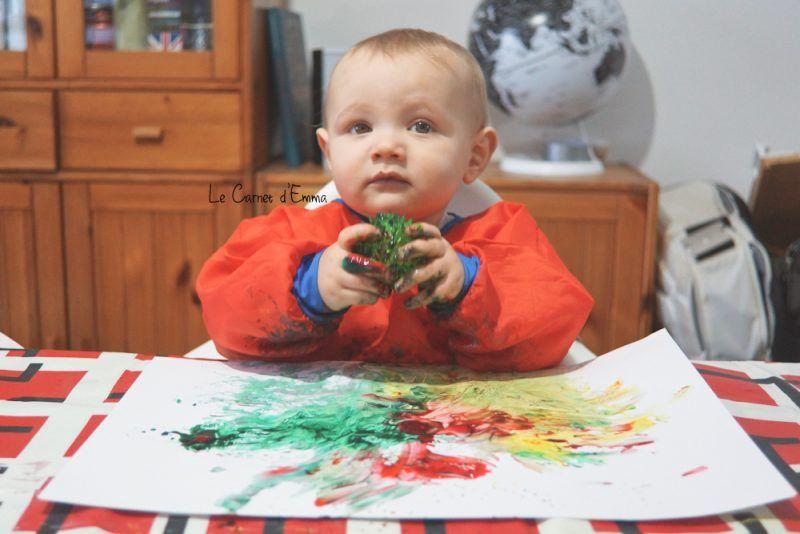 Fabuleux Peindre avec une balle à picots - Le Carnet d'Emma Activité enfant  TN95