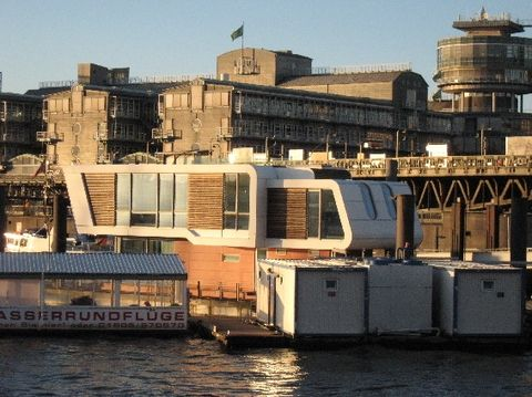Floating Home, Hamburg, Harbour, City Marina | unique homes and ...