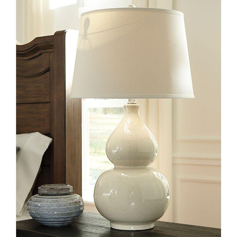 Signature Design By Ashley Saffi Table Lamp Table Lamp Signature Design By Ashley Ashley Furniture