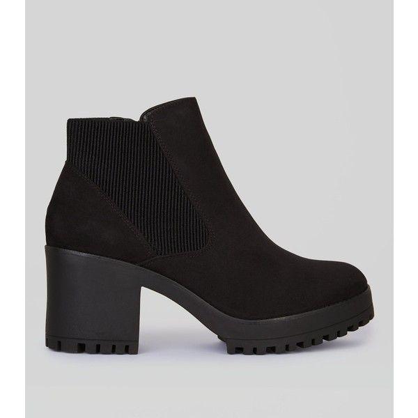 Nouvelle Chaussure De Chelsea Look En Noir - Noir 2PiPcRnt