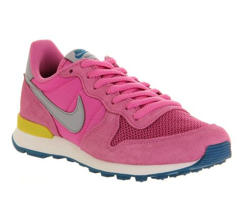 6cea485f2786f ... low price womens nike internationalist red violet grey trainers size 5 offcuts  shoes by office 07406