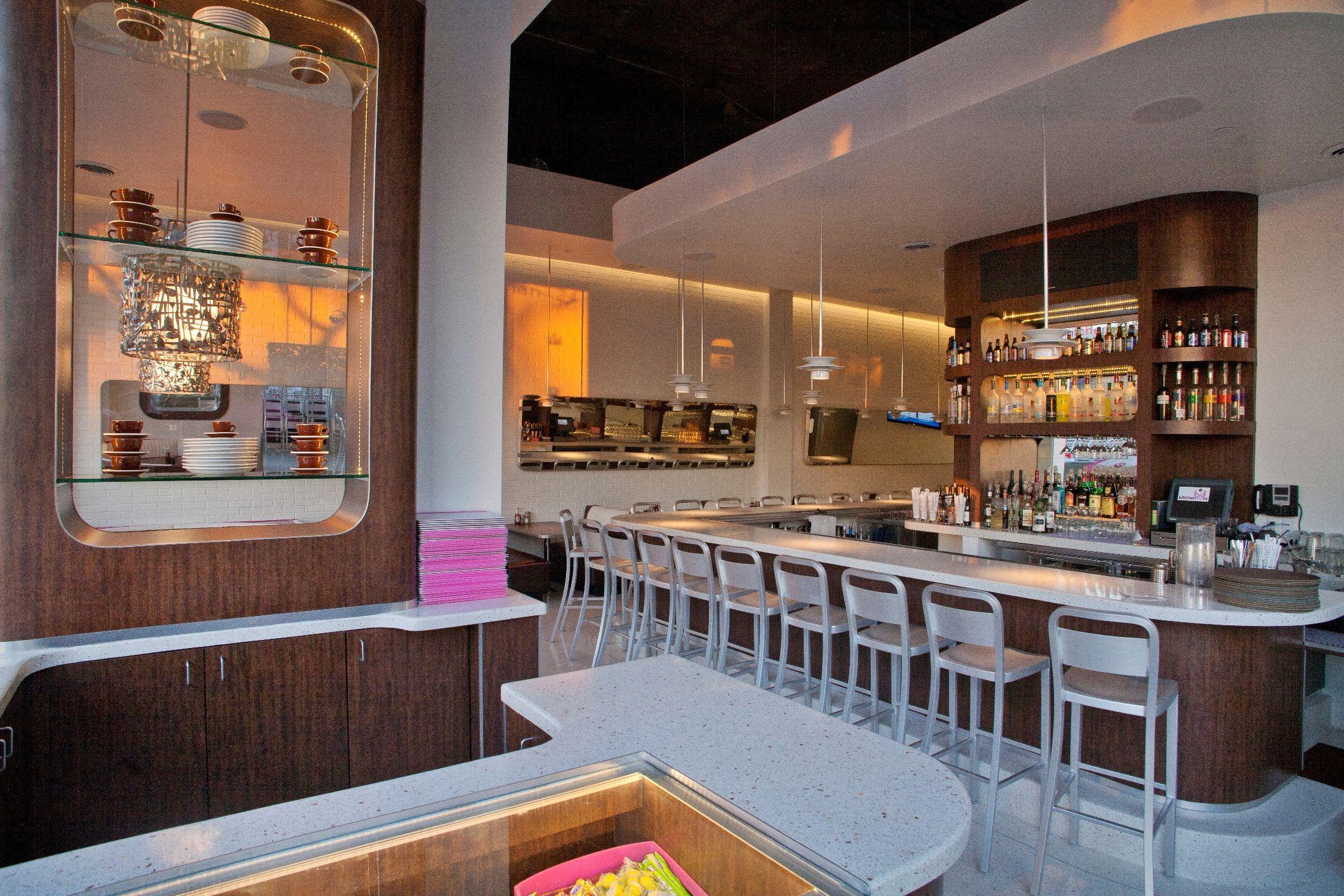 Kitchen24 Interior Restaurant Design By Spacecraft With A