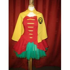 Adult Robin Girl Costume - Robin Tutu  Now I just need a Batman/Bruce Wayne of my very own