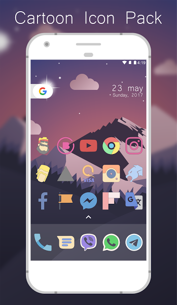 Cartoon Icon Pack V1 1 Paid Cartoon Icon Pack V1 1 Paid Requirements 4 0 3 And Upoverview This Is An Icon Pack And It Cartoon Icons Icon Pack Support Icon