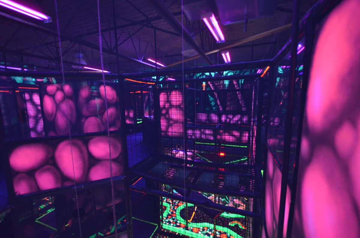 Laser Tag Floor Plan: We Design, Manufacture And Install Laser Tag