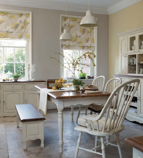 Laura Ashley Old Fashion White Kitchen For The Home