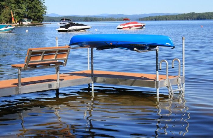 Custom Boat Docks by Great Northern Docks - Made in Maine