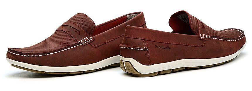68b97bec5 Mocassim Masculino Verde em Couro é na Calçados Ferricelli. Vários modelos  de sapatos casuais com