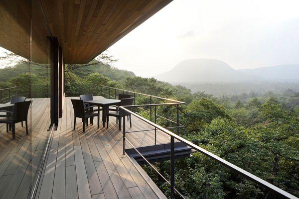 Terrace View. Residence In Asamayama, Japan. Kidosaki Architects Studio