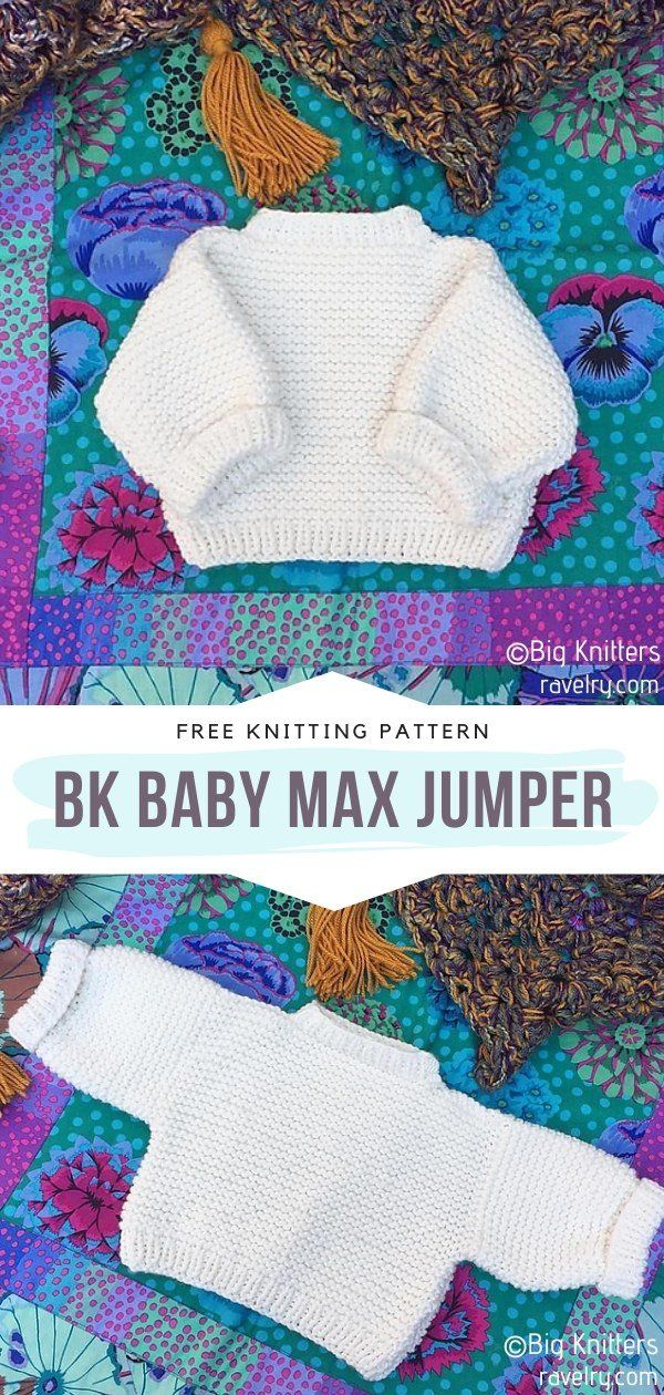 How to Knit BK Baby Max Jumper