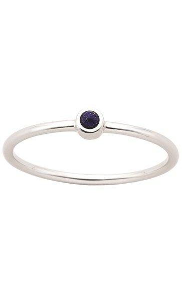 05d9f8c77a08 Karen Walker Fine Orbit lapis ring - sterling silver