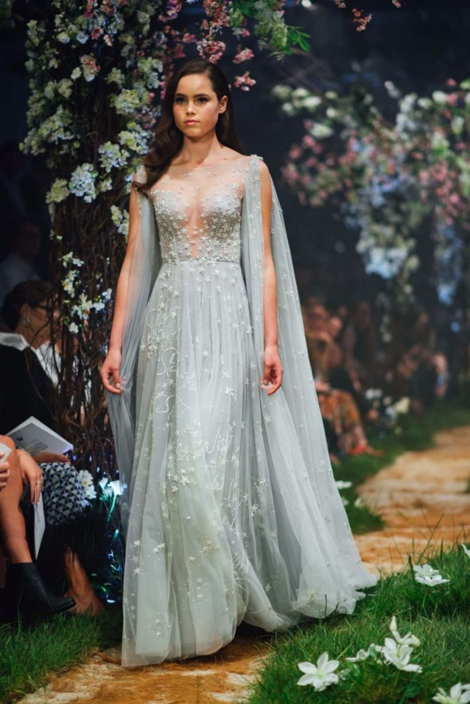 Disney Style Just Shared The Paolo Sebastian Spring Summer 2018 Show Collection Of Inspired Gowns And We Were Floored They Re All Subtle Nods To