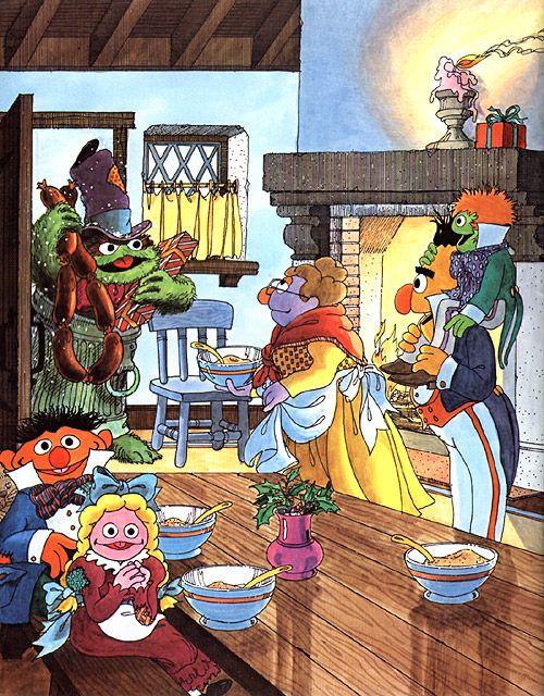 A Sesame Street Christmas Carol.A Christmas Carol Sesame Street Style 1982 A Christmas