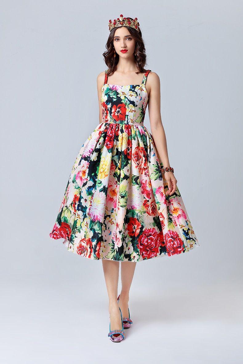 Women Shirt+Skirt Print 2//pcs Designer Runway Female Vestidos Sets Luxury Suits
