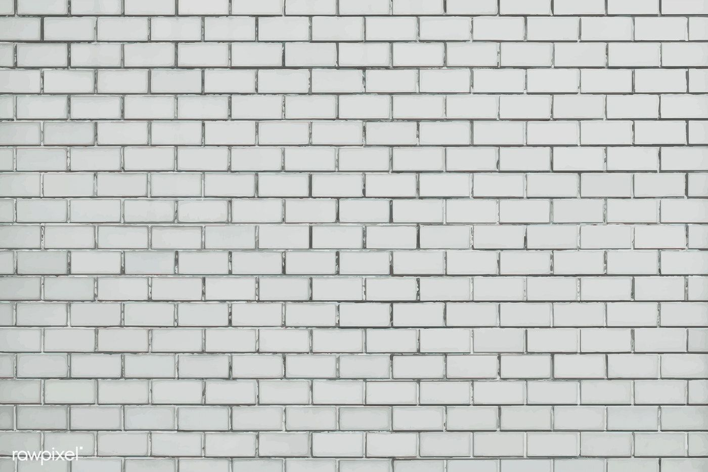 Download Premium Vector Of White Brick Wall Textured Background 514135 In 2021 White Brick Brick Wall Textured Walls