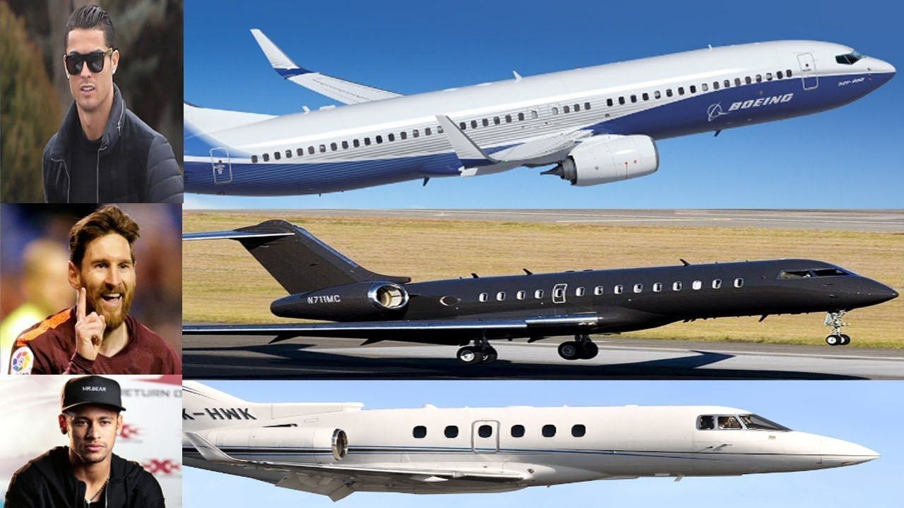 Most Expensive Private Jet Of Football Players 2019 World Best Private Private Jet Luxury Lifestyle Girly Celebrity Lifestyle