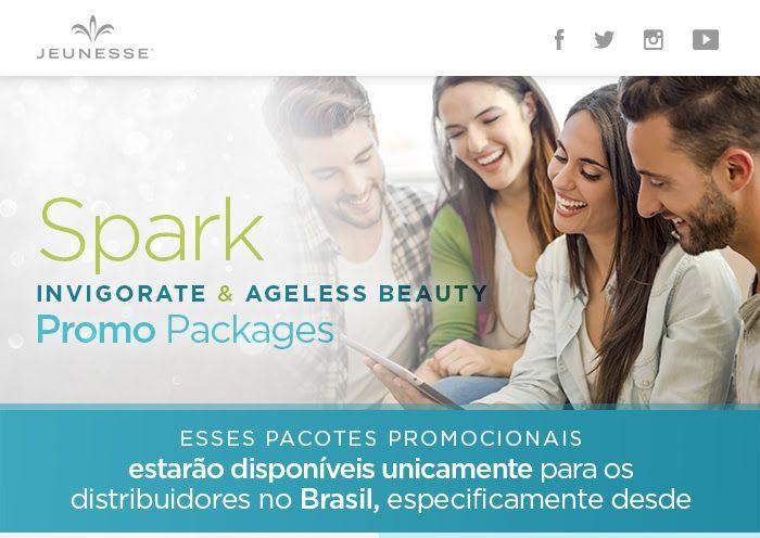La entrada Spark Invigorate & Ageless Beauty Promopackages Brasil aparece primero en Jeunesse Global Español.