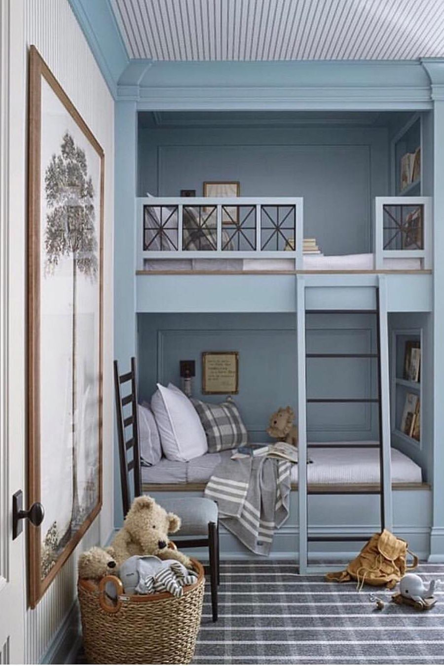 65 Amazing Small Bedroom Ideas To Create Space Bedroom Decor Bunk Beds Built In Built In Bunks Bunk Bed Designs