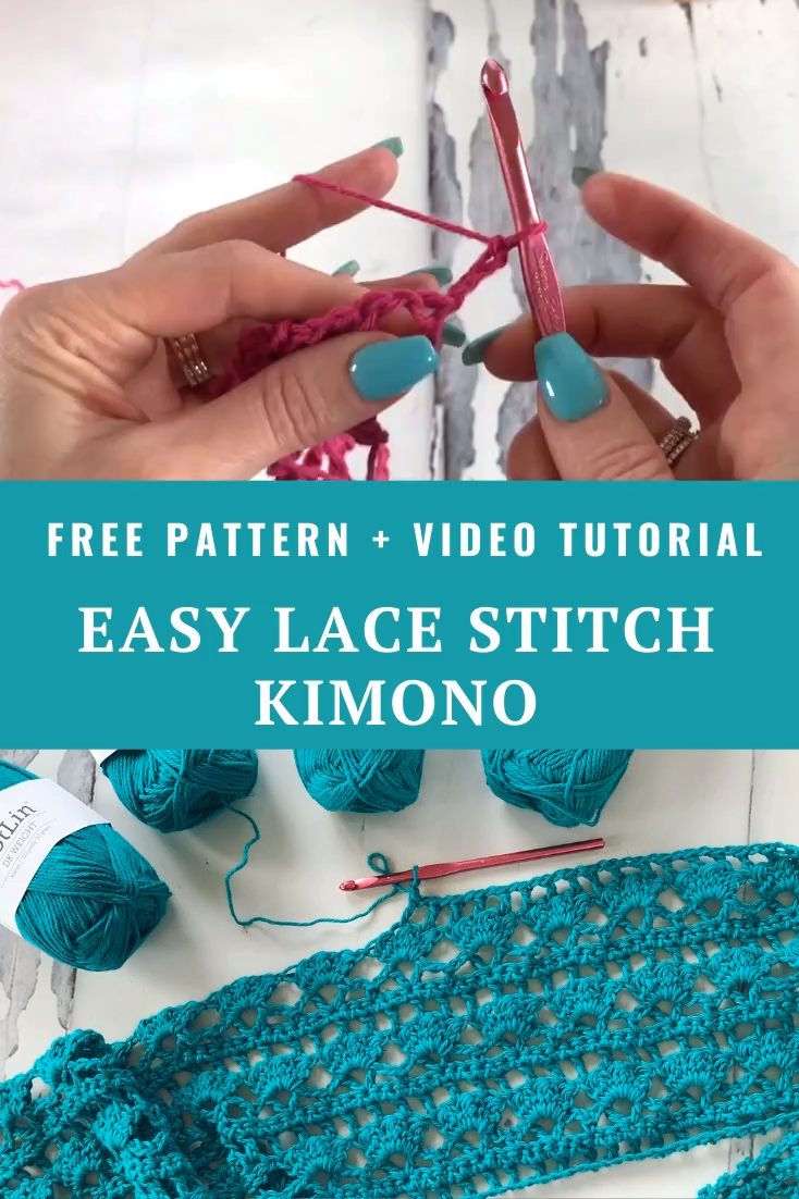 Photo of Free Crochet Pattern Lacy Days Kimono