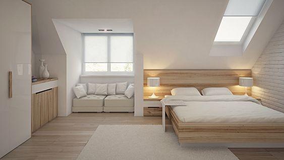 Hier nog een mooi voorbeeld van een slaapkamer met een ...
