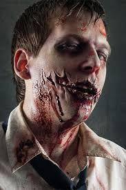 Bildergebnis für halloween make up männer zombie