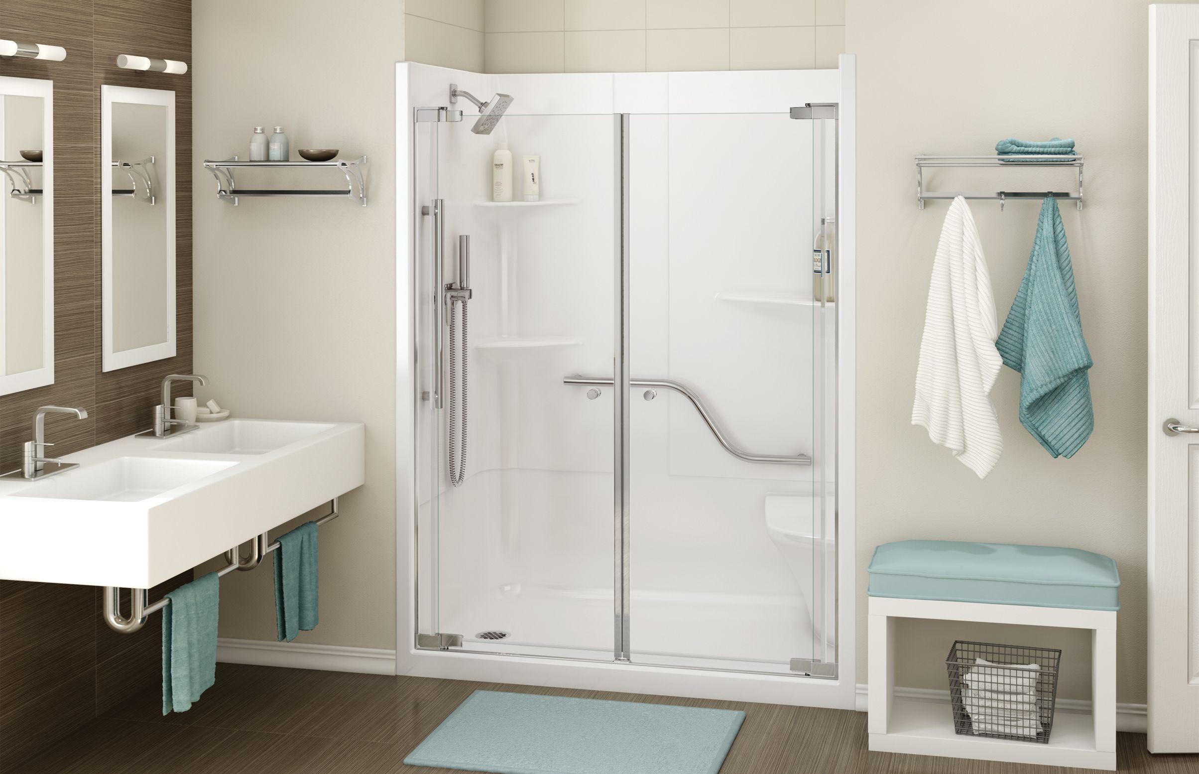 ALLIA SH-6034 Alcove Showers - MAAX Professional   B&C Bathroom ...