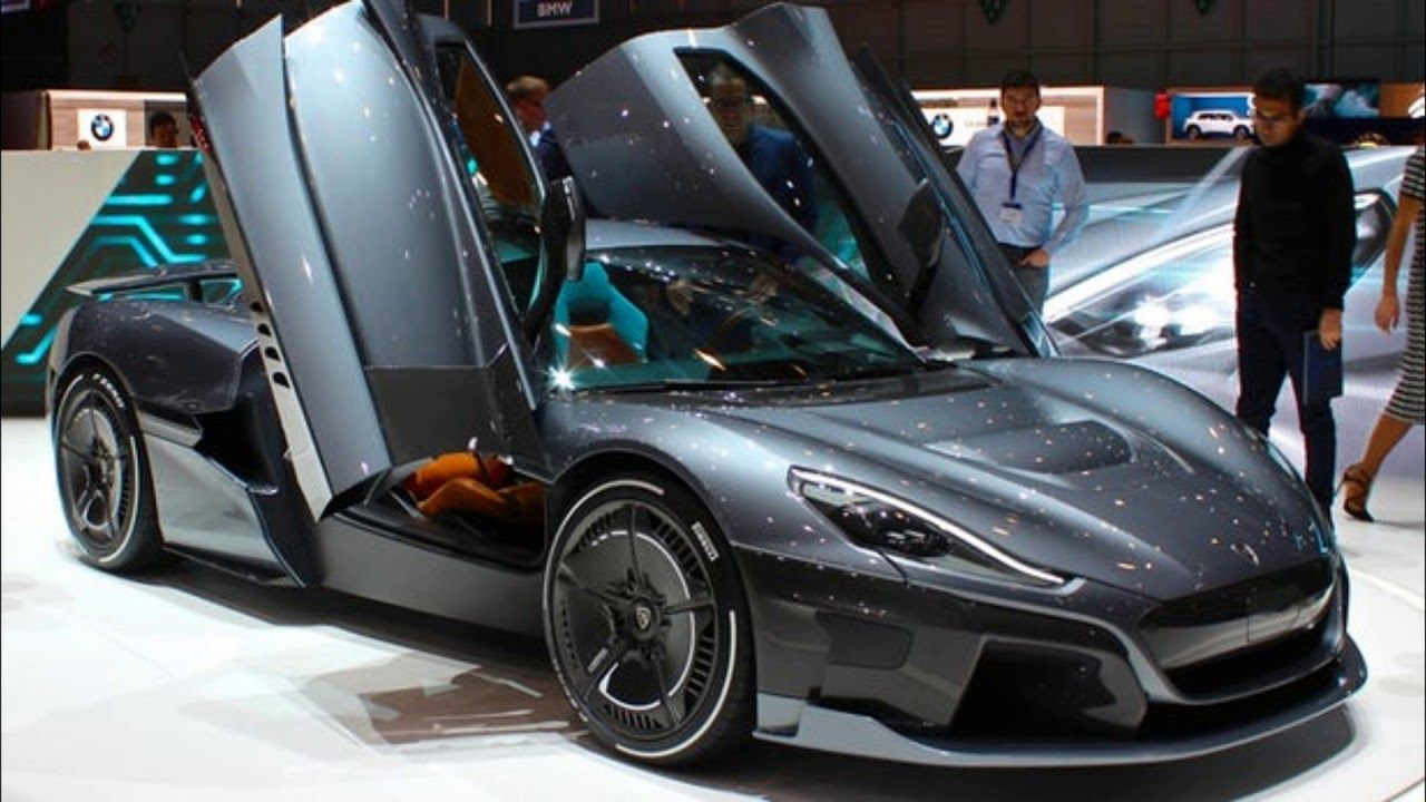 2020 Rimac C Two Hyper Car With Futuristic Design Super Cars Sports Cars Cars For Sale