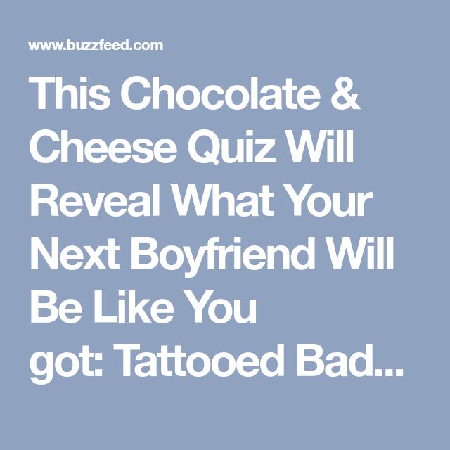 what is your boyfriend type quiz