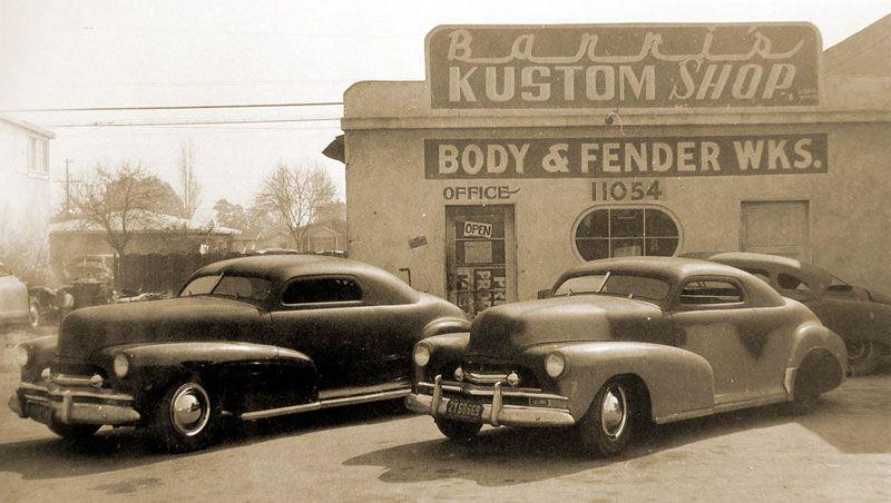 Barris Kustoms Kustomrama Classic cars trucks, Hot