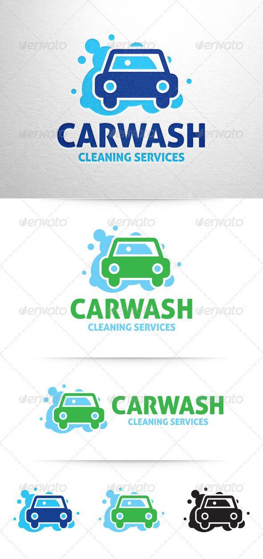 Car Wash Logo V3 Wash Logo Logo Design Template Car Wash