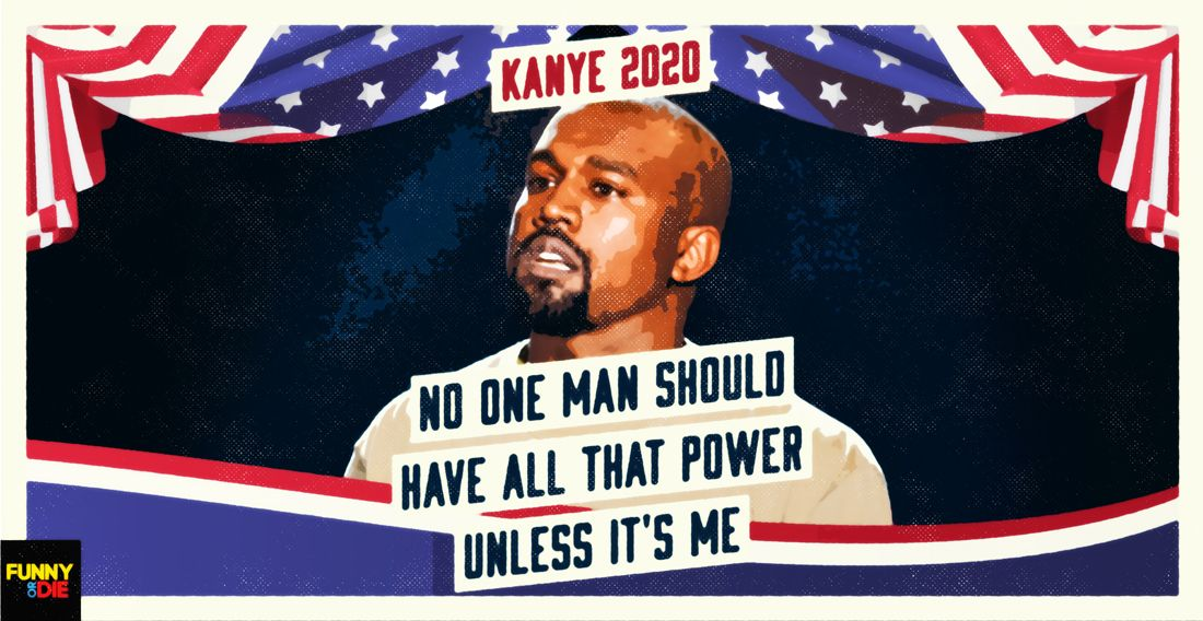 Kanye West S 2020 Presidential Announcement At The Vmas Kanye West Funny Laughter Catch Phrase