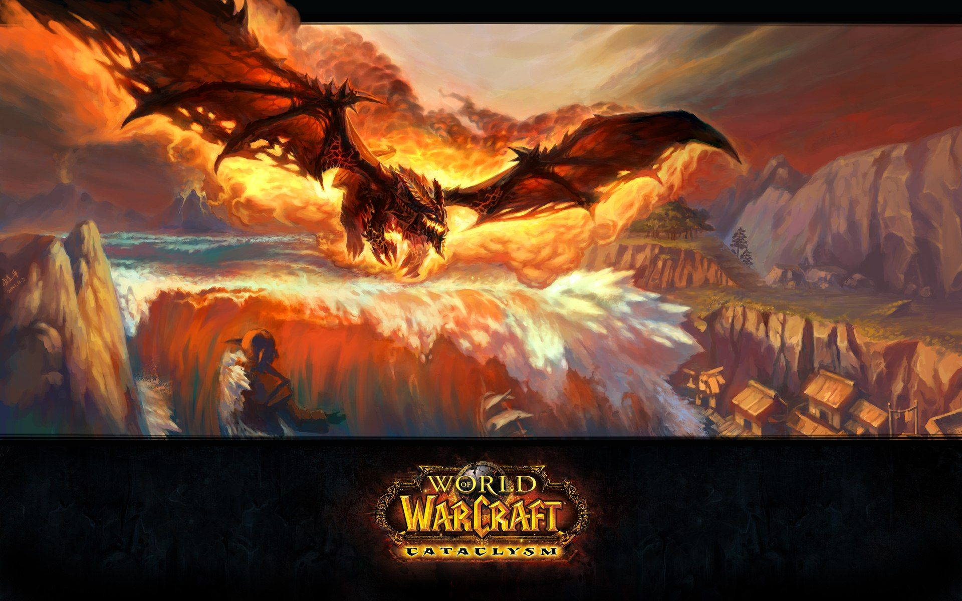 Wow Cataclysm World Of Warcraft Wallpaper World Of