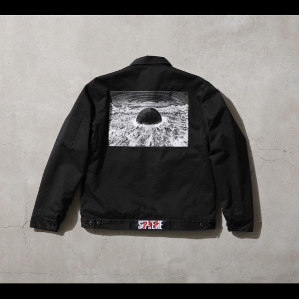 Supreme X Akira Work Jacket Black Large Brand New Depop Work Jackets Jackets Akira [ 960 x 960 Pixel ]