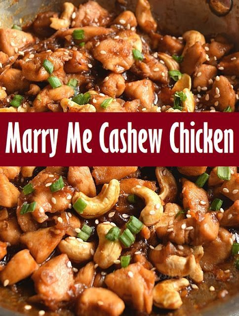 Marry Me Cashew Chicken - BeritaPro #marrymechicken Marry Me Cashew Chicken - BeritaPro #marrymechicken