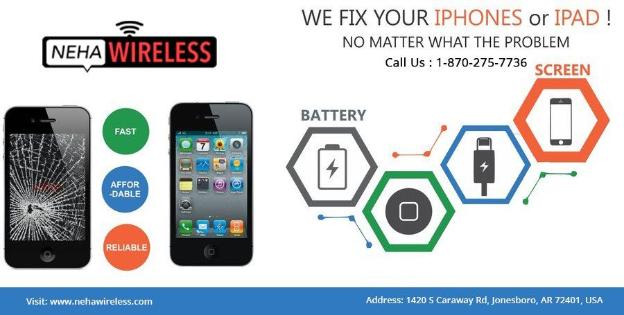 Is your iPhone Or iPad suffering from Broken Screen Or