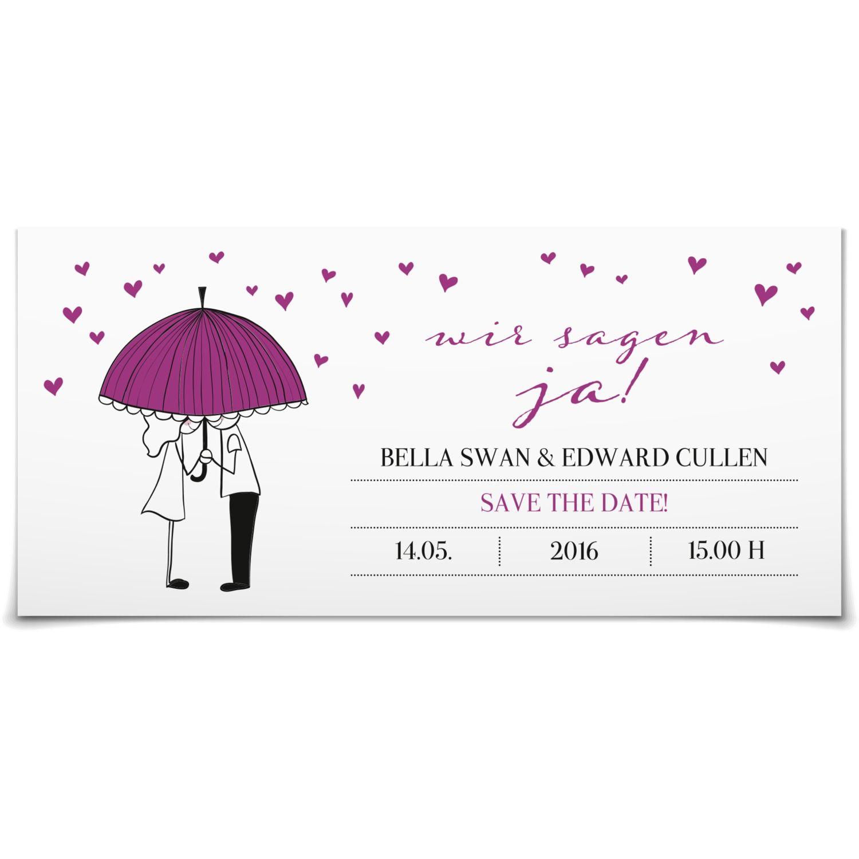 Save the Date Es regnet Herzen in Purpur - Postkarte lang #Hochzeit #Hochzeitskarten #SaveTheDate #kreativ https://www.goldbek.de/hochzeit/hochzeitskarten/save-the-date/save-the-date-es-regnet-herzen?color=purpur&design=bc23d&utm_campaign=autoproducts