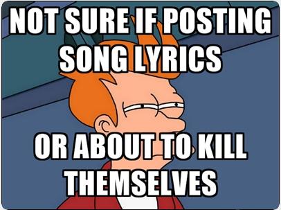 Facebook song lyrics