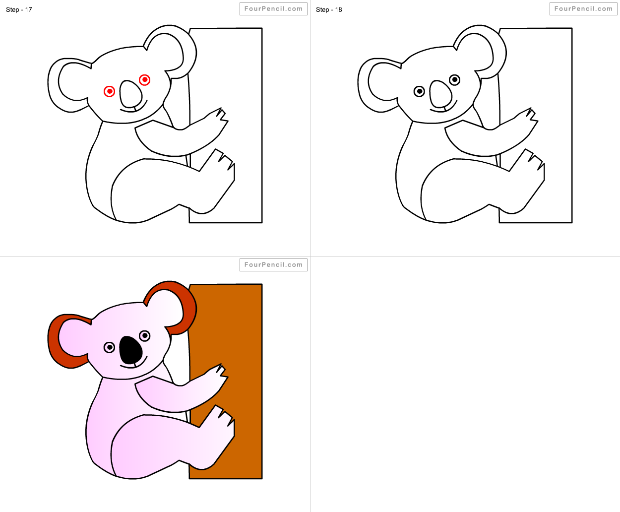 Uncategorized Draw Koala how to draw koala for kids step by drawing tutorial kids
