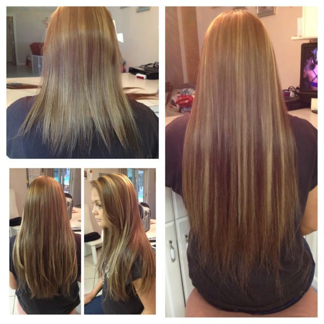 Indian Hair Extensions Before And After