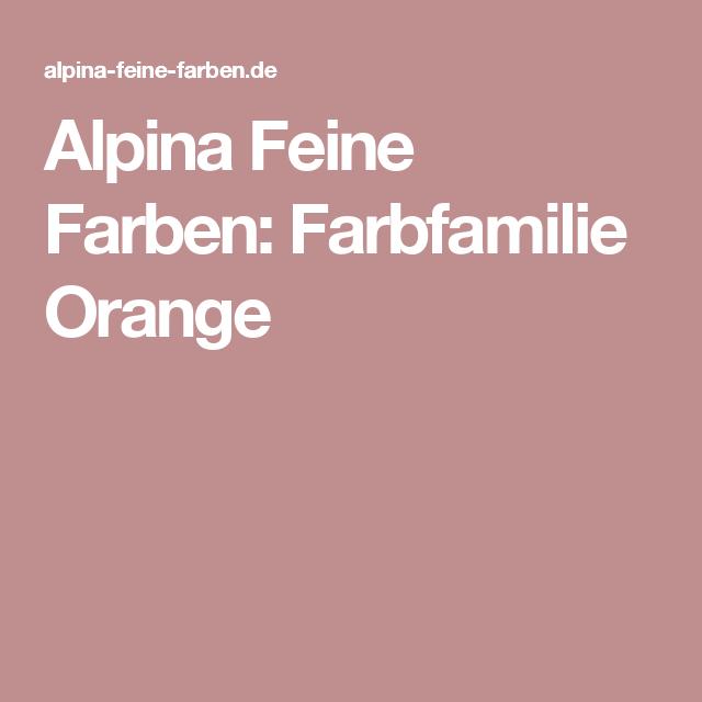 Edelmatte Wandfarben In Orange