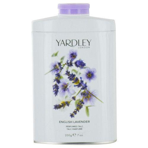 YARDLEY by Yardley ENGLISH LAVENDER TIN TALC 7 OZ (NEW PACKAGING)