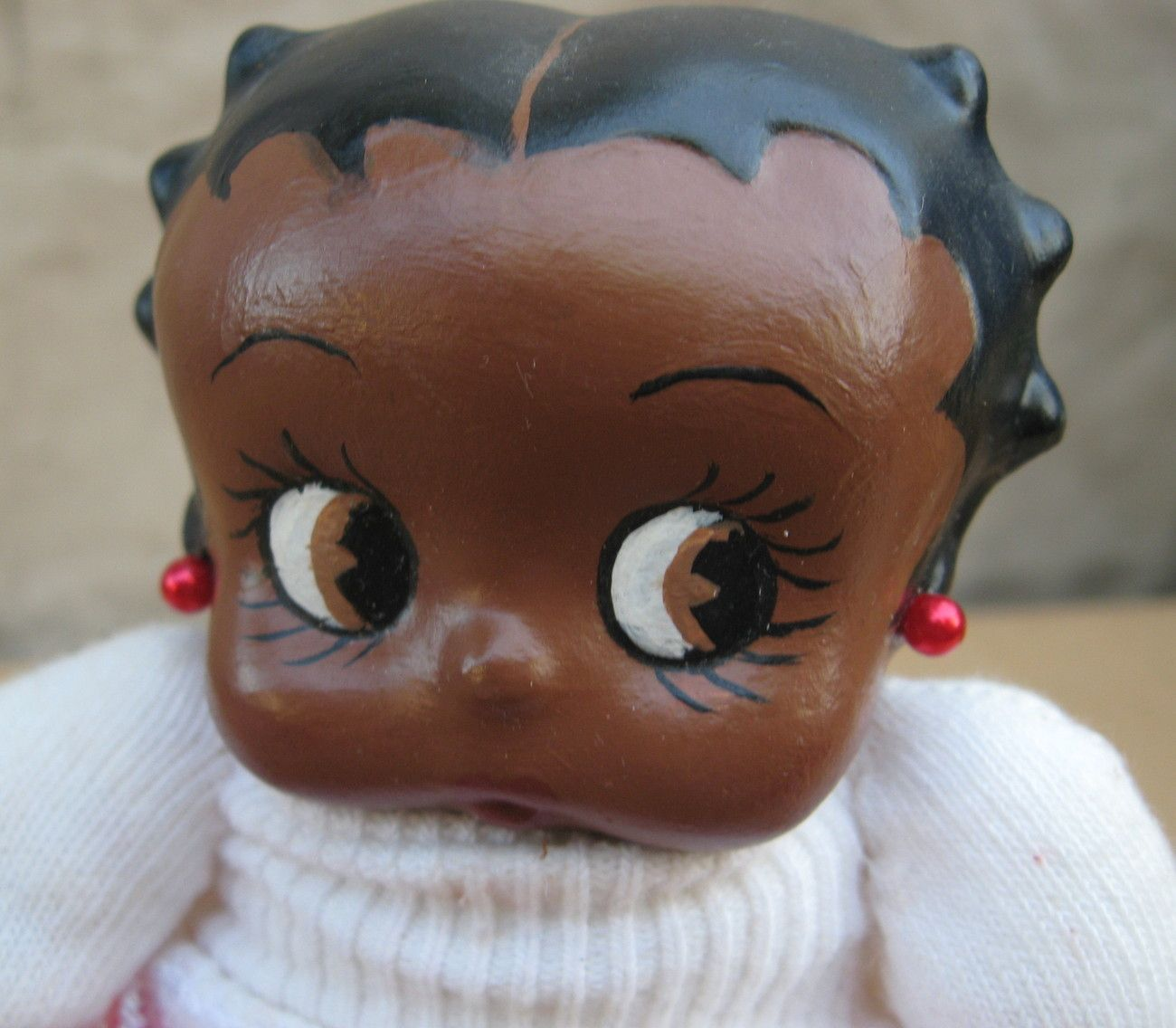 Black Betty Boop Photo Black Betty Boop Porcelain Doll African