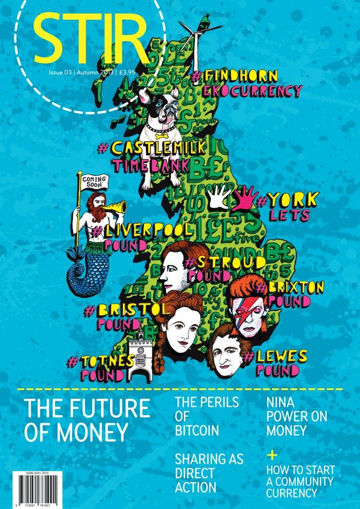Here's our new Autumn issue – The Future of Money – £3.95